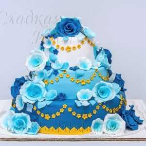 Свадебный торт 002870