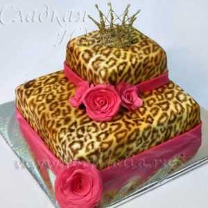 Торт на День рождения 004051