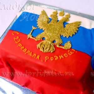 Торт Герб России