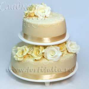 Свадебный торт 004078