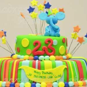 Детский торт Слоненок