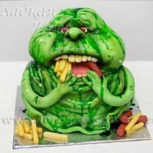 Детский торт Привидение
