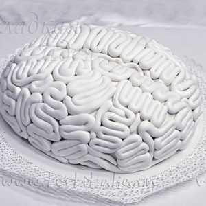 """Торт на День рождения """"Мозг"""""""