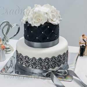 Торт свадебный 004259