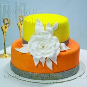 Торт свадебный 004281