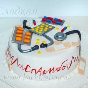 Торт для врача 007064
