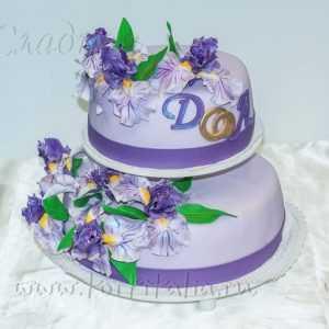 Торт свадебный 007074