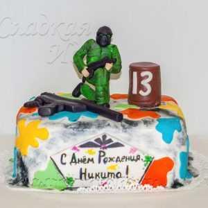 Торт для мальчика 007124