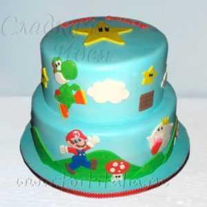 Детский торт Марат усатый