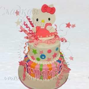 Торт Котенок на торте