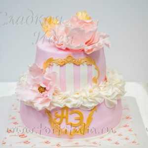Торт свадебный 007217