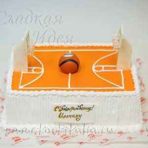 Торт Баскетбольное поле