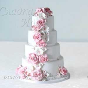 Торт свадебный 007250