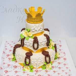 Свадебный торт 007255