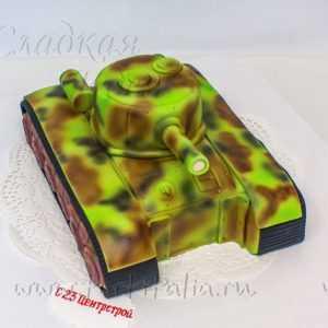 Торт Танк 007317