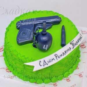 Торт Оружие