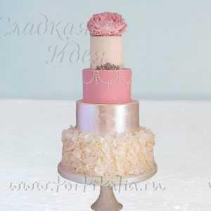 Свадебный торт 007347