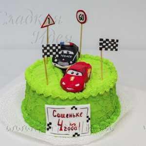 Торт детский: Машинки