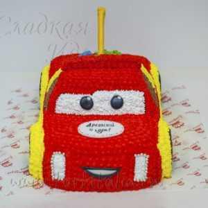 Торт Красная машинка