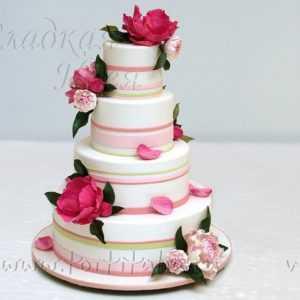 Торт свадебный 007180