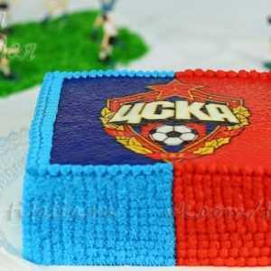 Торт спортивный ЦСК