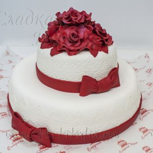 Торт на свадьбу 007256
