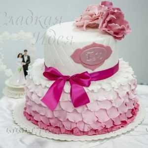 Торт свадебный 004221