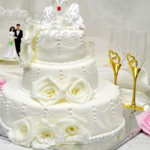 Свадебный торт 004110