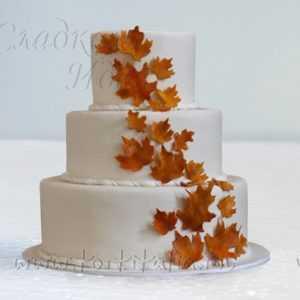 Торт на свадьбу 007178