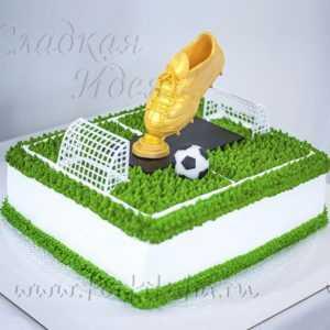 Торт мужчине Футбольное поле
