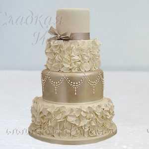 Свадебный торт 007357