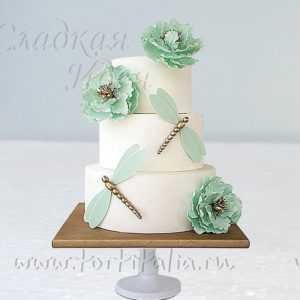Свадебный торт 007348
