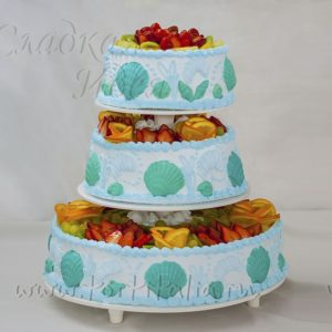 Свадебный торт 007050
