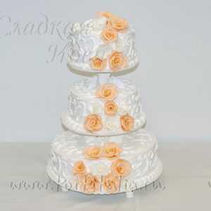 Свадебный торт 007042