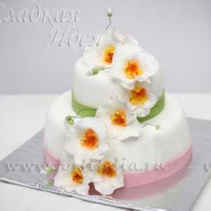 Торт свадебный 004143