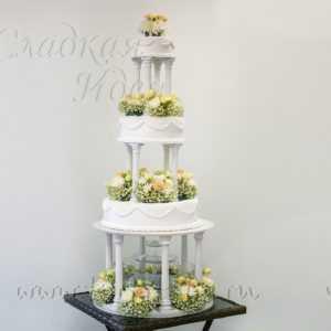 Свадебный торт 004322