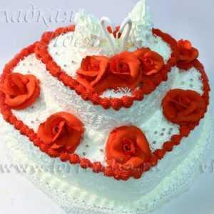Торт свадебный 004062
