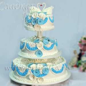 Свадебный торт 001549