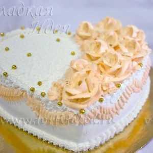 Праздничный торт Сердце