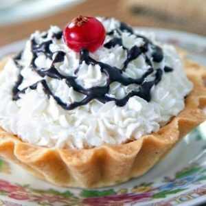 Пирожное Корзинка с рикоттой
